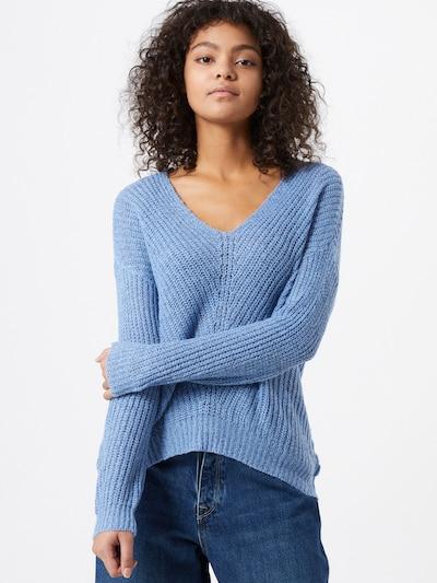 JDY Pullover 'Megan' in rauchblau, Modelansicht