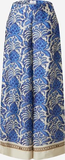 La Martina Broek in de kleur Blauw / Lichtblauw / Bruin / Offwhite, Productweergave