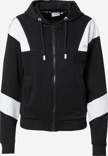 FILA Bluza rozpinana sportowa 'JAELA' w kolorze czarny / białym, Podgląd produktu
