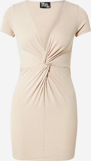 Parallel Lines Kleid in puder, Produktansicht