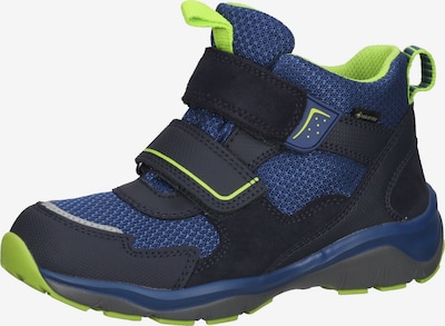 SUPERFIT Laarzen in de kleur Blauw / Groen / Zwart, Productweergave