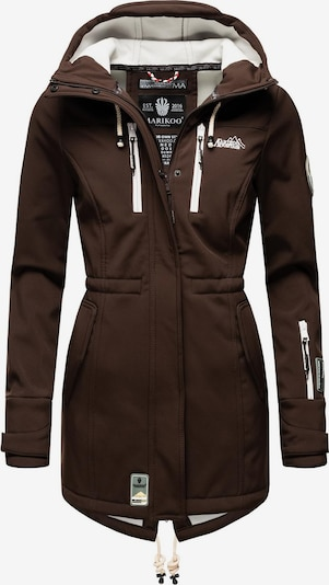 Cappotto funzionale 'Zimtzicke' MARIKOO di colore marrone scuro, Visualizzazione prodotti