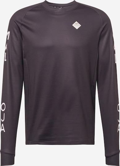 Maloja Functioneel shirt 'Sperling' in de kleur Gemengde kleuren / Zwart, Productweergave
