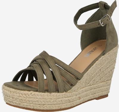 Sandale cu baretă 'Tia' Hailys pe kaki, Vizualizare produs