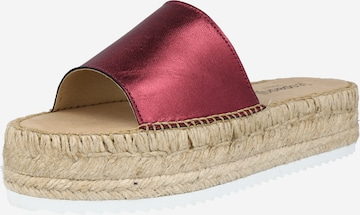 espadrij l´originale Pantolette in Rot