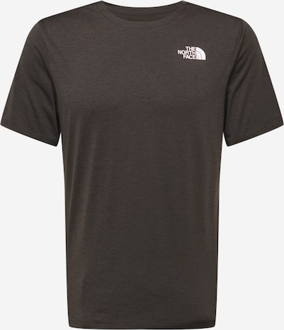 THE NORTH FACE Sportshirt 'BRIDGER' in anthrazit / weiß, Produktansicht