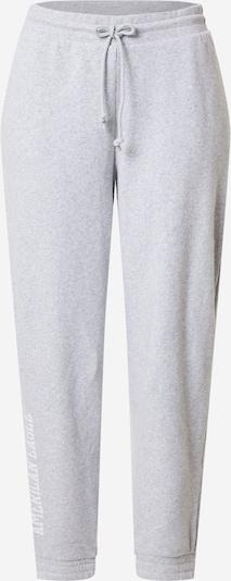 American Eagle Bukser i grå / hvid, Produktvisning