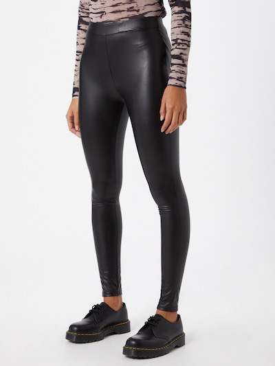 TOM TAILOR DENIM Leggings in schwarz, Modelansicht