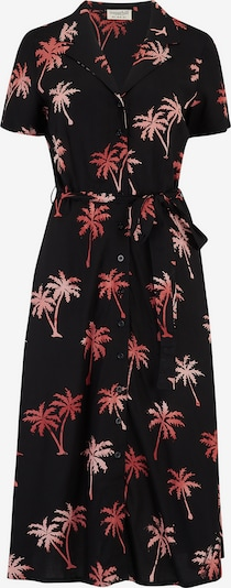 Sugarhill Brighton Robe-chemise 'Kendra Palm Tree Batik' en noir, Vue avec produit