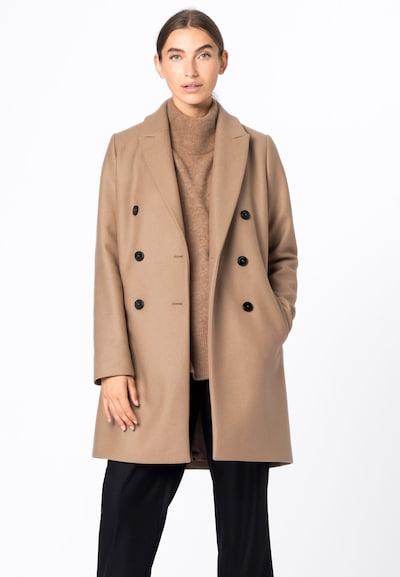HALLHUBER Mantel in beige, Modelansicht