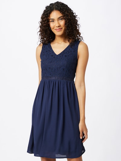 ABOUT YOU Koktejl obleka 'Rose' | mornarska barva, Prikaz modela