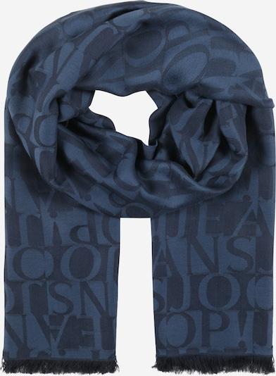 JOOP! Jeans Schal in taubenblau / dunkelblau, Produktansicht