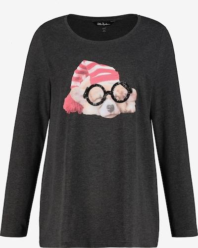 Ulla Popken Shirt in dunkelgrau, Produktansicht