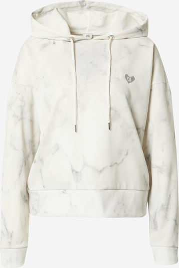 River Island Sweatshirt 'MARBLE' in Light grey / Off white, Item view