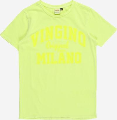 VINGINO Majica | neonsko rumena barva: Frontalni pogled