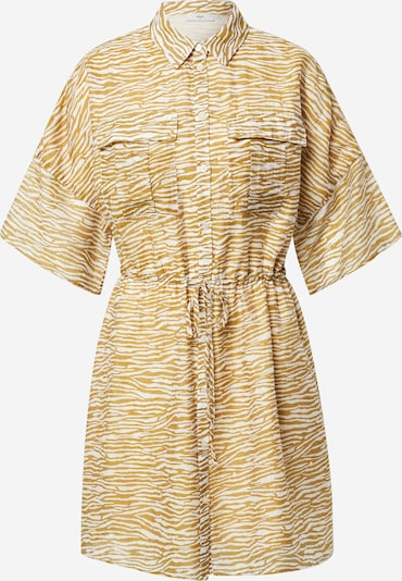minimum Robe-chemise 'Enga 7455' en marron / caramel / blanc, Vue avec produit