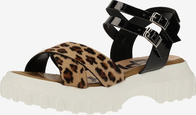 REPLAY Sandalen in schwarz, Produktansicht