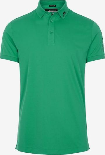 J.Lindeberg Functioneel shirt in de kleur Lichtgroen / Zwart, Productweergave