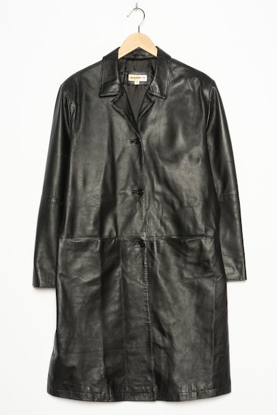 GIORGIO ARMANI Trenchcoat in L in schwarz, Produktansicht