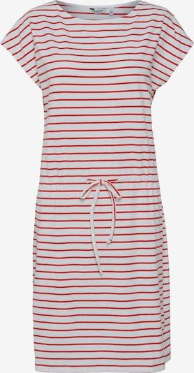 b.young Kleid 'Pandina' in rot / weiß, Produktansicht