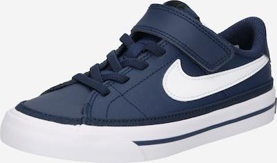 Nike Sportswear Baskets 'Court Legacy' en bleu marine / blanc: Vue de face