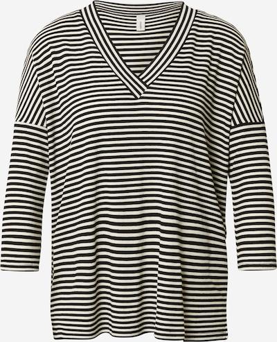 Soyaconcept Shirt 'GELIKA 2' in de kleur Zwart / Wit, Productweergave