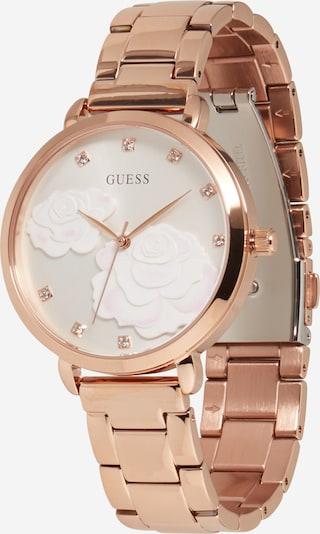 GUESS Analoginen kello värissä kulta / helmenvalkoinen, Tuotenäkymä