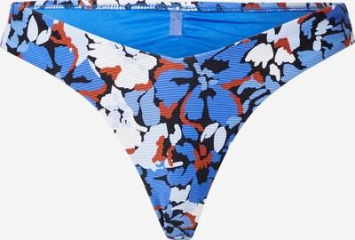 Seafolly Долнище на бански тип бикини 'Rio' в синьо / морскосиньо / ръждиво кафяво / бяло, Преглед на продукта