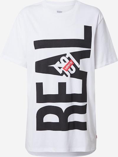 LEVI'S T-Krekls, krāsa - sarkans / melns / balts, Preces skats