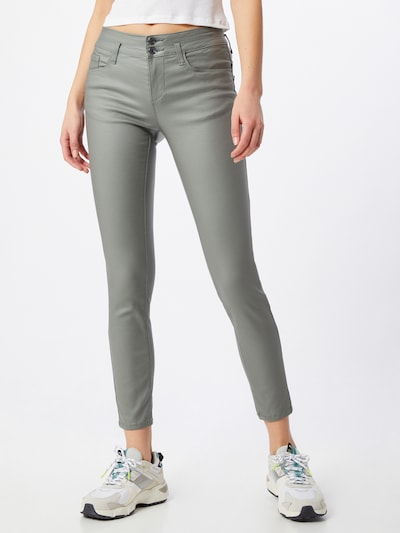 TOM TAILOR Jeans 'Alexa' in grün, Modelansicht
