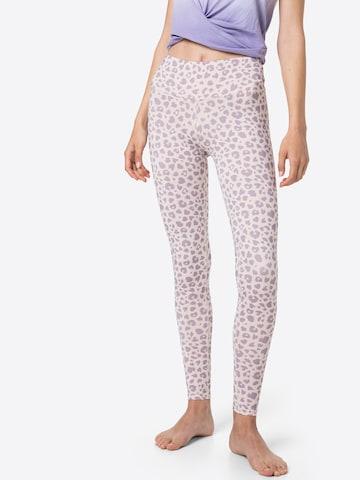 Hey Honey Workout Pants in Purple
