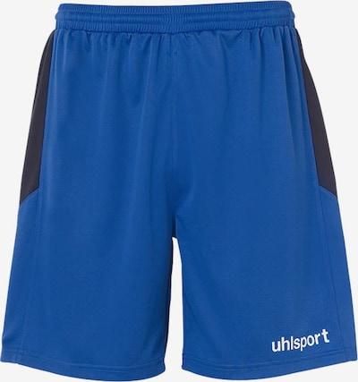 UHLSPORT Sporthose in royalblau / schwarz / weiß, Produktansicht