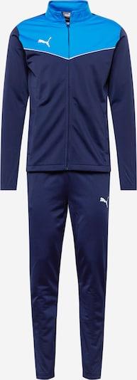 PUMA Odjeća za vježbanje 'RISE' u mornarsko plava / tirkiz / bijela, Pregled proizvoda