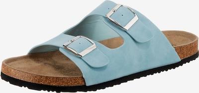 ambellis Pantolette in hellblau, Produktansicht