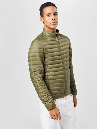 SAVE THE DUCK Prijelazna jakna u maslinasta: Prednji pogled