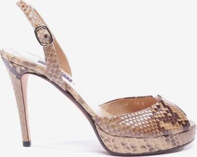 RALPH LAUREN Sandaletten in 38,5 in beige / braun, Produktansicht