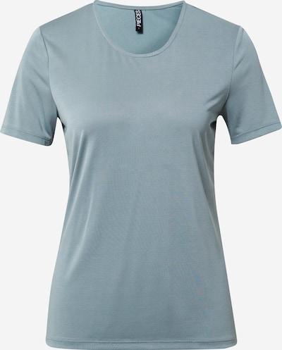 PIECES T-shirt 'KAMALA' en bleu fumé, Vue avec produit