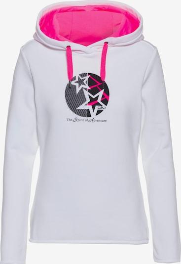 CMP Sweatshirt in weiß, Produktansicht