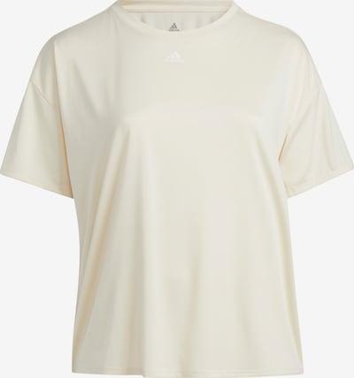 ADIDAS PERFORMANCE Shirt 'TRNG 3S TEE PS' in weiß, Produktansicht