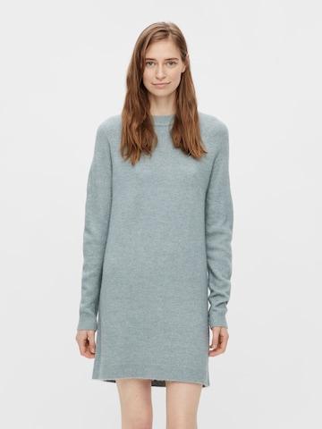 PIECES Gebreide jurk 'CHAPA' in Grijs