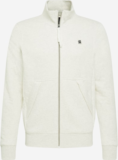 G-Star RAW Sweatjacke in weiß, Produktansicht