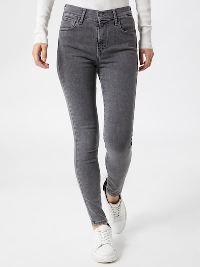 LEVI'S Jeans '720™ HIRISE SUPER SKINNY' in grey denim, Modelansicht
