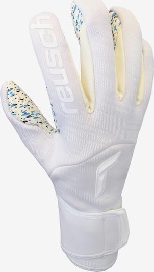 REUSCH Handschuh in hellgelb / weiß, Produktansicht