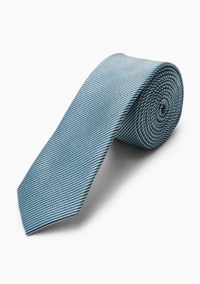 s.Oliver BLACK LABEL Krawatte in blau, Produktansicht