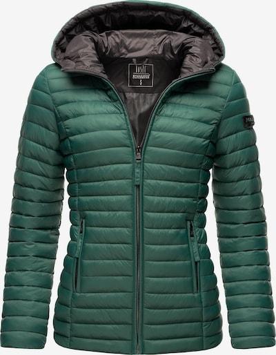 MARIKOO Jacke 'Asraa' in smaragd / schwarz, Produktansicht
