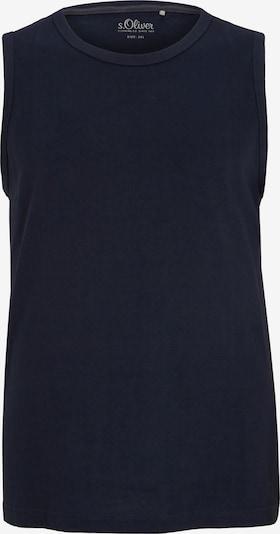 s.Oliver Men Big Sizes Tanktop in nachtblau, Produktansicht