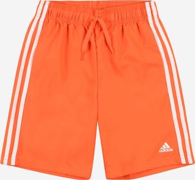 ADIDAS PERFORMANCE Спортен панталон в оранжево / бяло, Преглед на продукта