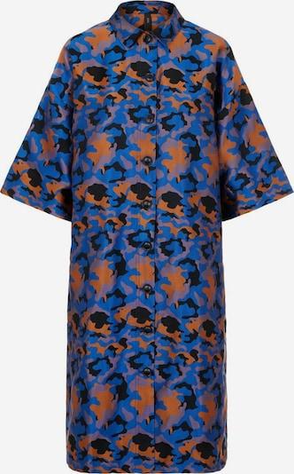 Y.A.S Manteaux d'été en bleu / marron / noir, Vue avec produit