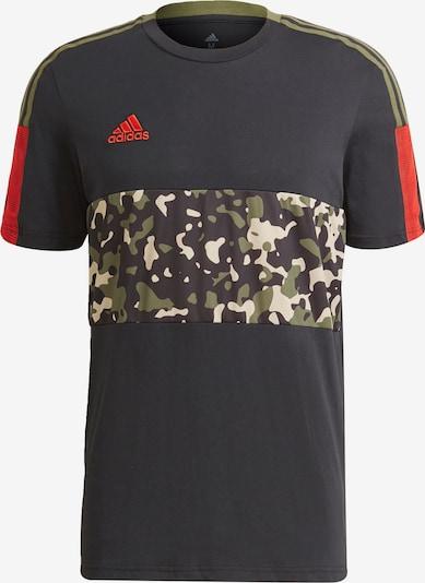 ADIDAS PERFORMANCE Koszulka funkcyjna 'Tiro Graphic' w kolorze czarnym, Podgląd produktu