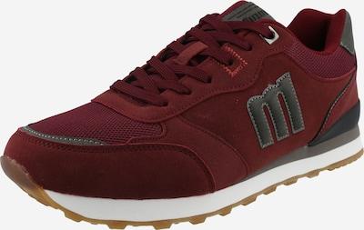 MTNG Zapatillas deportivas bajas 'PORLAND' en gris / rojo vino, Vista del producto